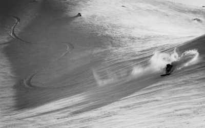Tom Ritsch powder turn in Davos, Switzerland
